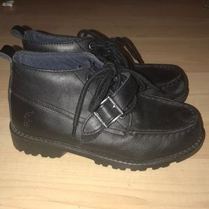 Youth black polo Ralph Lauren black shoes/boots